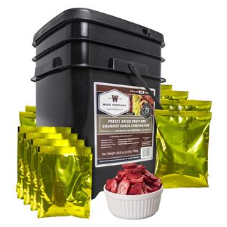 Wise Food Freeze-Dried Fruit and Gourmet Snacks (120 Servings)