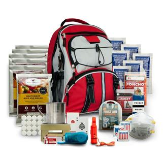 Wise Food 5 Day Survival Backpack Red