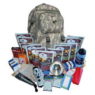 Wise Food 2 Week Essential Survival Backpack Camo