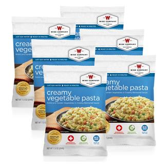 Wise Food Meal Pouches (Six Count) Creamy Pasta & Vegetable Rotini