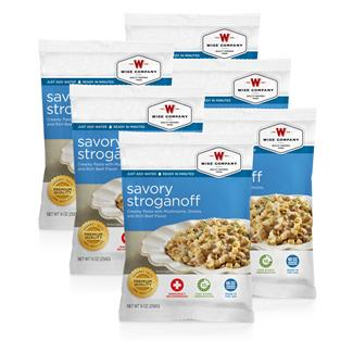 Wise Food Meal Pouches (Six Count) Savory Stroganoff