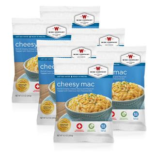Wise Food Meal Pouches (Six Count) Cheesy Macaroni