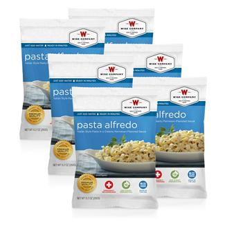 Wise Food Meal Pouches (Six Count) Pasta Alfredo