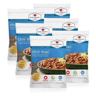 Wise Food Meal Pouches (Six Count) Chili Macaroni