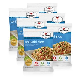 Wise Food Meal Pouches (Six Count) Teriyaki & Rice