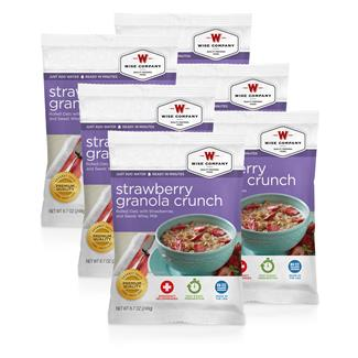 Wise Food Meal Pouches (Six Count) Strawberry Granola Crunch