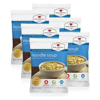Wise Food Meal Pouches (Six Count) Chicken Noodle Soup