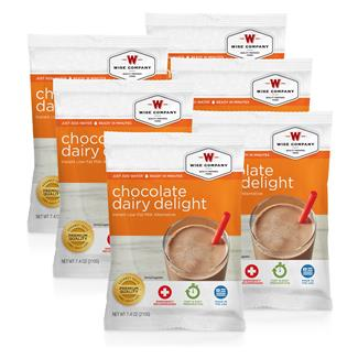 Wise Food Dairy Delight Packs (Six Count) Chocolate Dairy Delight