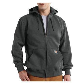 Carhartt Paxton Heavyweight Front Zip Hoodie Carbon Heather