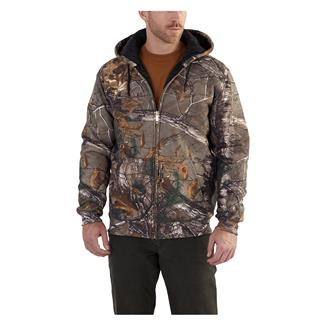 Carhartt Avondale Midweight Front Zip Hoodie Realtree Xtra