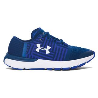 Under Armour SpeedForm Gemini 3 Fire / Deep Periwinkle / White