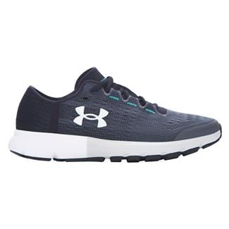 Under Armour SpeedForm Velociti Rhino Gray / Black / White