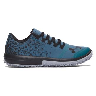 Under Armour SpeedTire Ascent Low Marlin Blue / Overcast Gray / Black