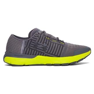 Under Armour SpeedForm Gemini 3 Rhino Gray / Smash Yellow / Black