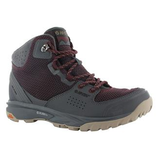 Hi-Tec V-Lite Wildlife Mid i Wine / Charcoal