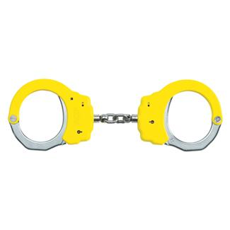 ASP Steel Identifier Chain Handcuffs Yellow