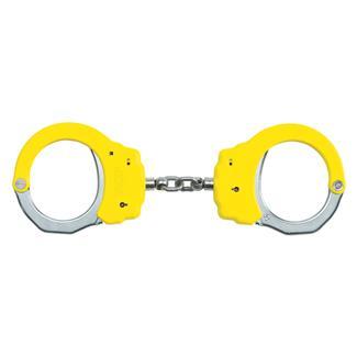 ASP Steel Identifier Chain Handcuffs Yellow