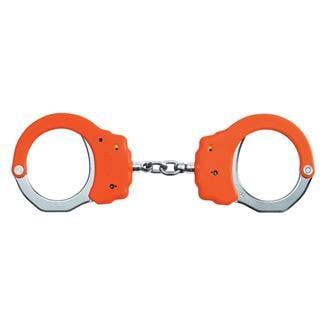ASP Steel Identifier Chain Handcuffs Orange