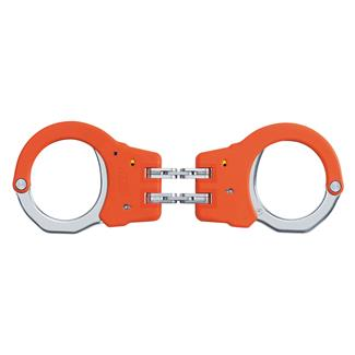 ASP Steel Identifier Hinge Handcuffs Orange