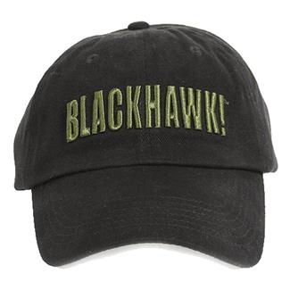 Blackhawk Logo Cap w/ Embroidery Black
