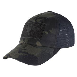 Condor Mesh Tactical Cap MultiCam Black