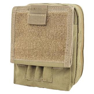 Condor Map Pouch Tan