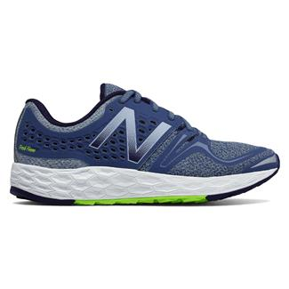 New Balance Fresh Foam Vongo Dark Porcelain Blue / Lime Glo