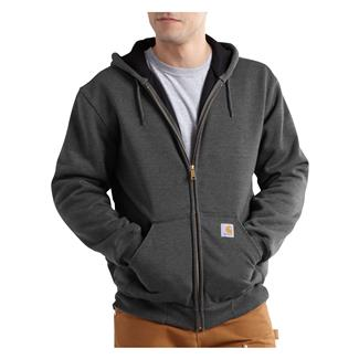 Carhartt Rutland Thermal-Lined Front Zip Hoodie Carbon Heather