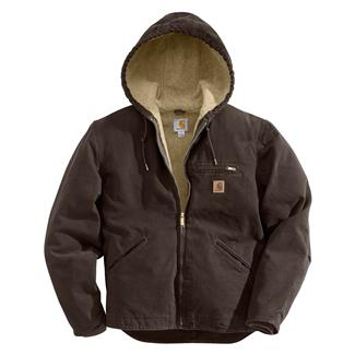Carhartt Sandstone Sierra Jacket Dark Brown