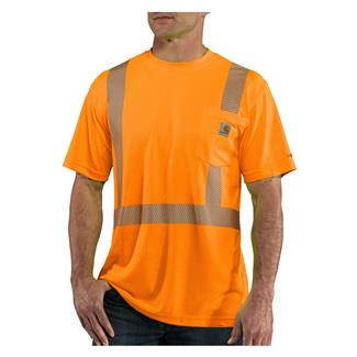Carhartt Force Hi-Vis Class 2 T-Shirt Brite Orange