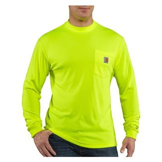 Carhartt Force Hi-Vis Color Enhanced Long Sleeve T-Shirt Brite Lime