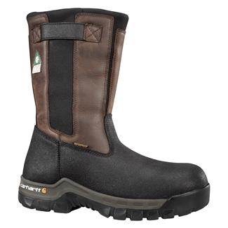 "Carhartt 10"" CSA Rugged Flex 400G CT WP Brown Oil Tanned / Black Coated"
