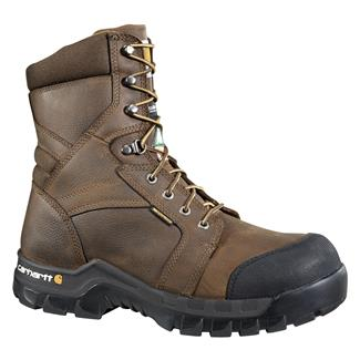 "Carhartt 8"" CSA Rugged Flex 400G CT WP Brown"