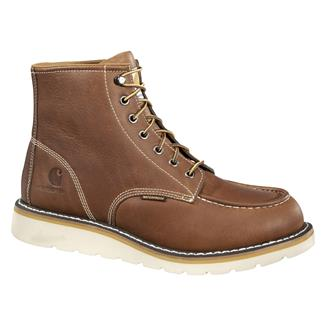 "Carhartt 6"" Moc Toe Wedge ST WP Tan"