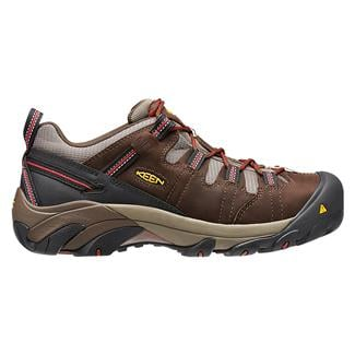 Keen Utility Detroit Low Met Guard ST WP Brown / Bossa Nova