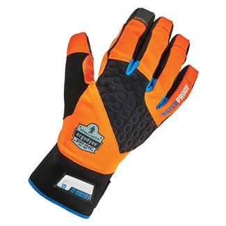 Ergodyne Performance Thermal Waterproof Utility Gloves Orange