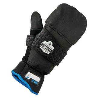 Ergodyne Thermal Flip-Top Gloves Black