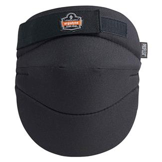 Ergodyne Wide Soft Cap Knee Pad Black