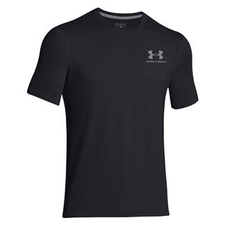Under Armour Charged Cotton Sportstyle T-Shirt Black / Steel