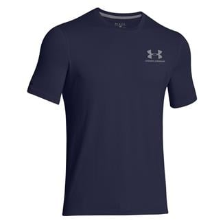 Under Armour Charged Cotton Sportstyle T-Shirt Midnight Navy / Steel