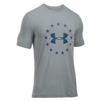Under Armour HeatGear Freedom T-Shirt True Gray Heather