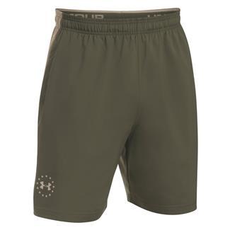 Under Armour Freedom ArmourVent Shorts Marine OD Green