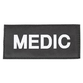 Blackhawk Medic Patch White on Black