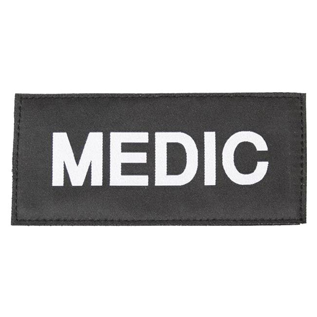 Blackhawk Medic Patch White on Black