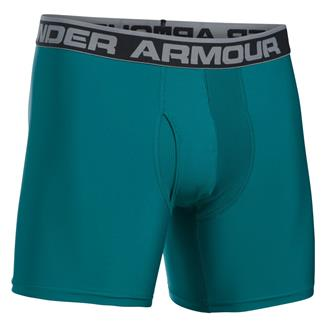 Under Armour Original 6'' BoxerJock Boxer Brief Turquoise Sky