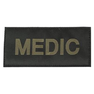 Blackhawk Medic Patch Green on Black