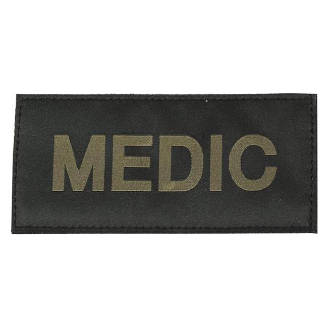 Blackhawk Medic Patch Green on Black