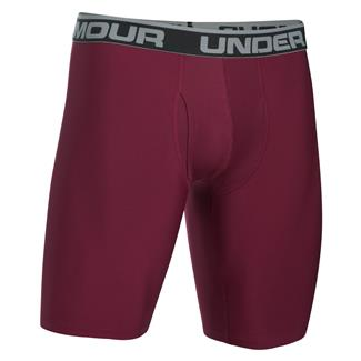Under Armour Original 9'' BoxerJock Boxer Briefs Maroon