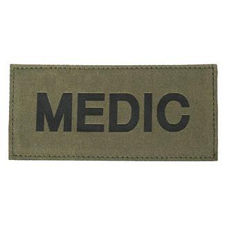 Blackhawk Medic Patch Black on Green