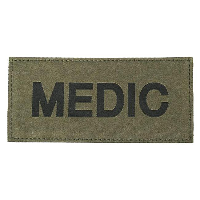 Blackhawk Medic Patch Black on Green